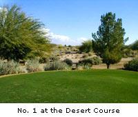 No. 1 at the Desert Course