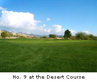 No. 9 at the Desert Course