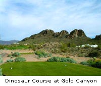 The Dinosaur Course at Gold Canyon