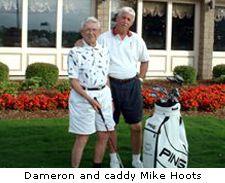 James Dameron & caddy