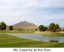 Mt. Cayenta at Rio Rico