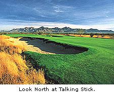 Look North at Talking Stick
