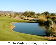 Tonto Verde's putting course